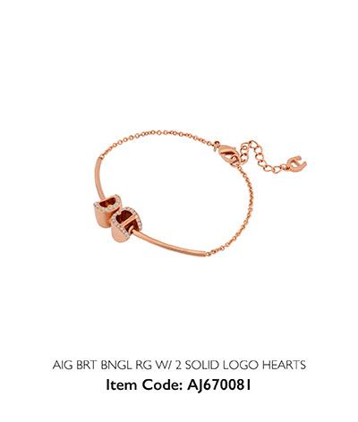 Aigner Woman Bracelet Hearts