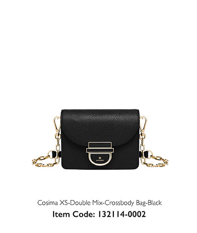 Aigner Woman Crossbody Bag Cosima Black