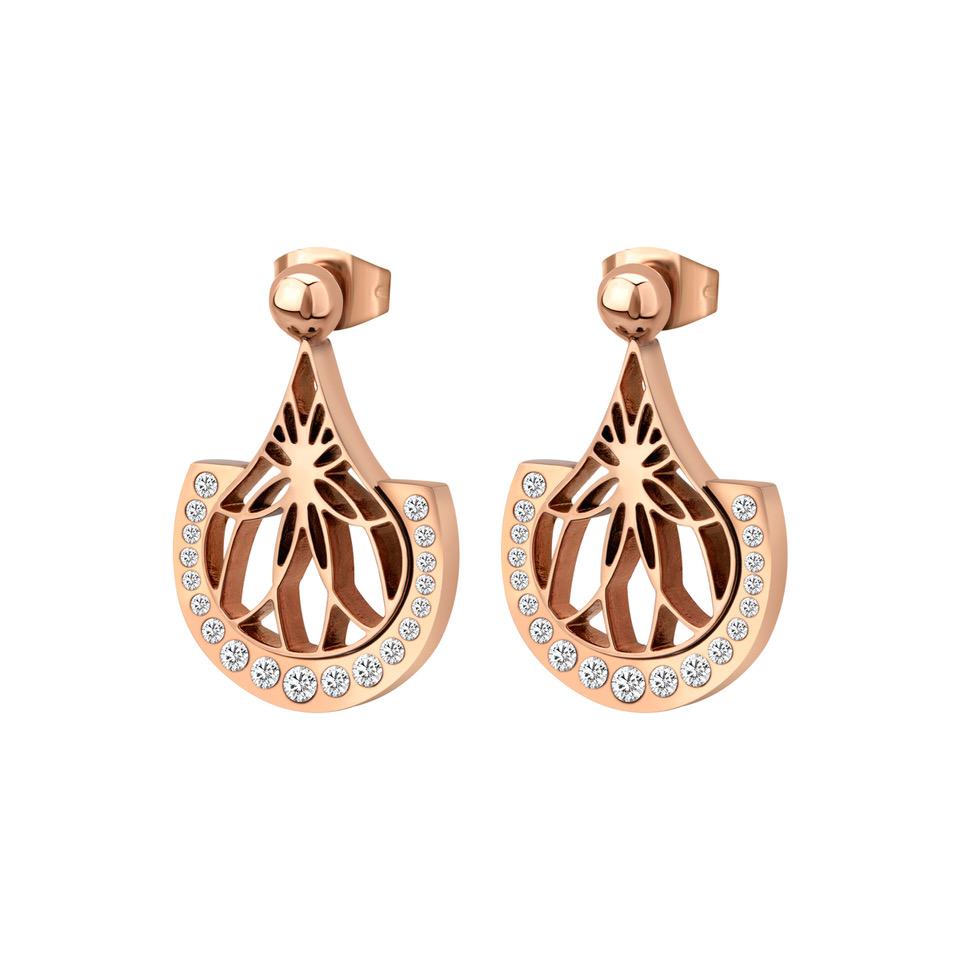 JESINA Earrings Cerruti Woman Gold Best Mother's Gift Trafalgar Luxury Jewels