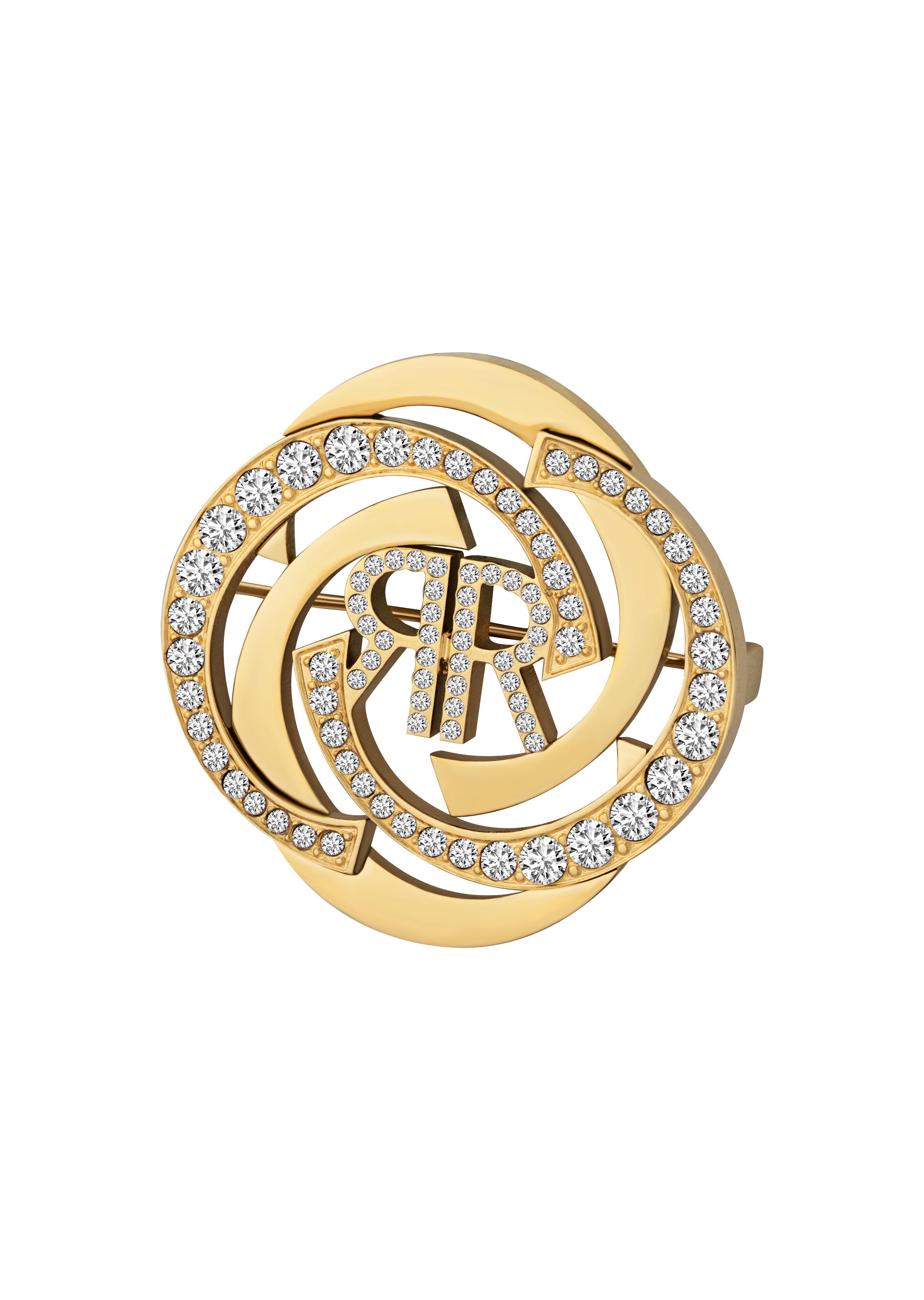 Cerruti Woman Gold Brooch Best Mother's Gift Trafalgar Luxury Jewels