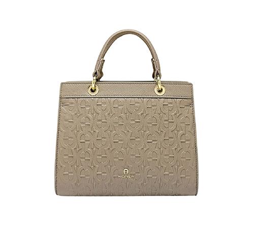 Carol S-Handbag-Feather grey