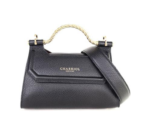 Celtic Bag Mini- Leather Black/BDX