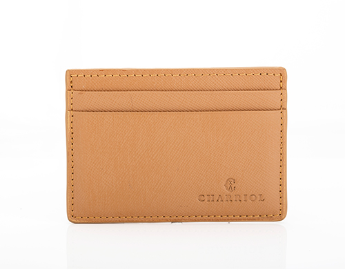 CHARRIOL LEATHER - WALLET-SAFF-CUOIO