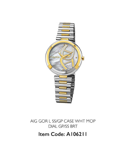 Aigner Woman Watch Genua Due Steanless