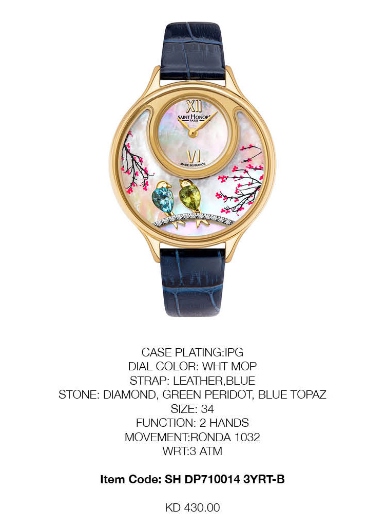 SAINT HONORE Ladies Watch