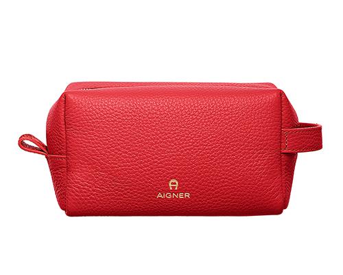 Basics-Pouch-Cube-Poppy Red