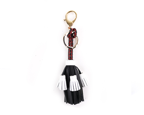 Palais Royal Leather Tassel w/key Ring A